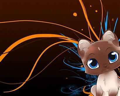 Cartoon Anime Cat Desktop Animated Wallpapers Kawaii