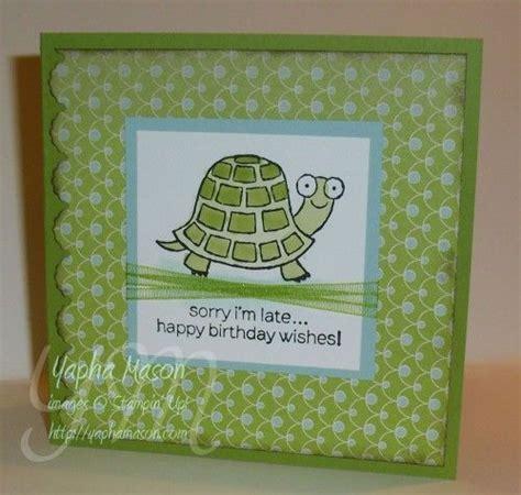birthday rubber stamping card making  yapha