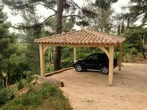 Abri Voiture En Bois : vente abris voiture paca autran fabricant abris abris ~ Nature-et-papiers.com Idées de Décoration