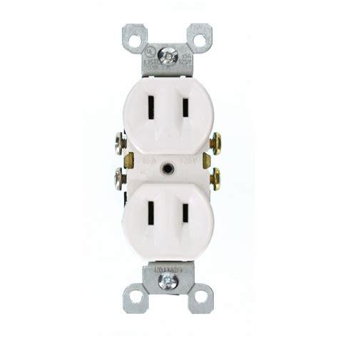 leviton 15 125 volt duplex self test slim gfci outlet
