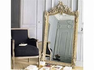 Miroir à Poser Au Sol : murs 40 id es pour leur donner du peps elle d coration ~ Teatrodelosmanantiales.com Idées de Décoration