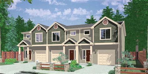 house plans for narrow lots with front garage narrow lot duplex house plans narrow and zero lot line