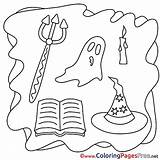 Halloween Ausmalbilder Pitchfork Umsonst Coloring Malvorlagen Affefreund Template Ausdrucken Zum Ghost Disimpan Carwallpaper Dari sketch template