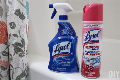 lysol power foam bathroom cleaner 12 time saving bathroom cleaning tips