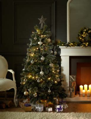 ft luxury silver christmas tree ms