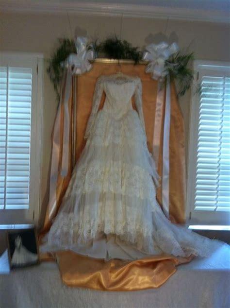 anniversary party wedding dress display images wedding