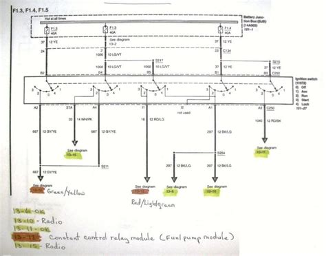 Ignition Switch Wiring Diagram Mustangforums