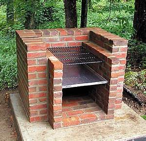 BARBECUE BRICK GRILL OUTDOOR GRILL OUTDOOR
