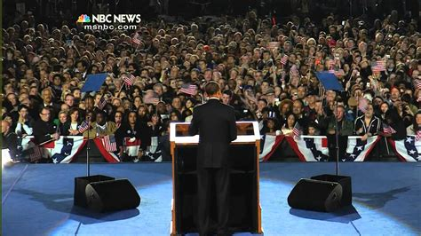 Obama Victory Speech 2008 Youtube