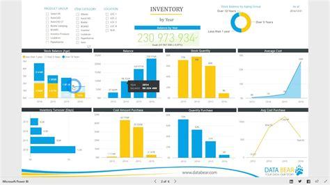 power bi dashboard reports inventory analysis youtube