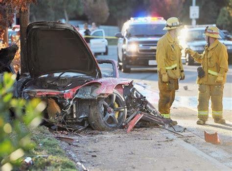 Paul Walker Crash Photo Shows Total Destruction