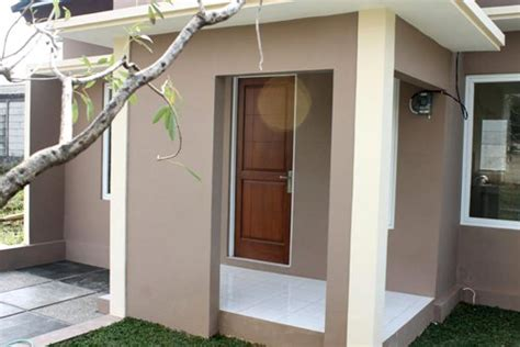 rumah minimalis menggunakan batu alam gambar om