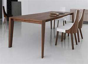 Plus Walnut Dining Table - Contemporary Wooden Dining Tables