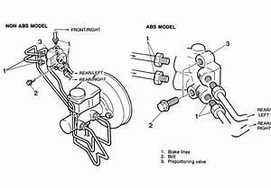 Mazda Protege 1995 Brake Diagram For Machine