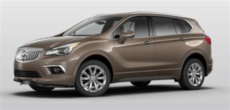buick envision color options