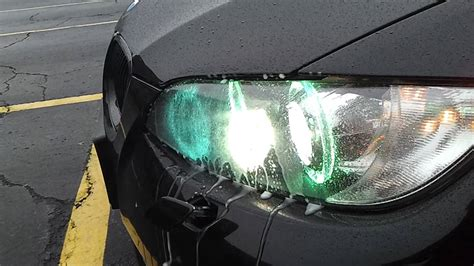 bmw 335i headlight washers e92 омыватель фар