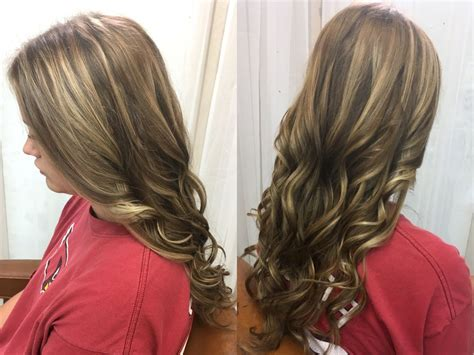 Platinum Blonde And Honey Blonde Highlights With Cool