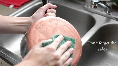 cleaning copper pot  salt  vinegar youtube