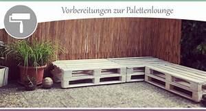 Paletten Möbel Selber Bauen : palettenm bel selber bauen paletten lasieren teil 3 wohncore ~ Orissabook.com Haus und Dekorationen