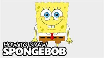 nickelodeon spongebob deck drawdown how to draw spongebob squarepants easy step by step