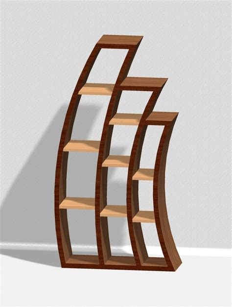 wooden curved furniture images  pinterest