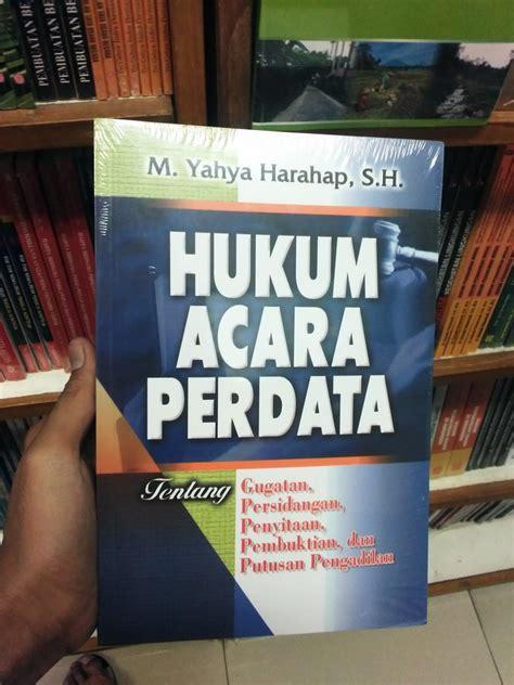 Buku Ajar Hukum Perdata jual beli buku hukum acara perdata oleh m yahya