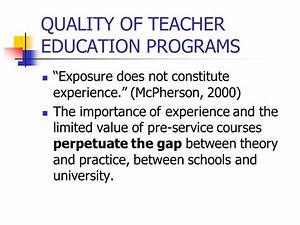 INDICATORS OF SUCCESS IN TEACHER EDUCATION - ppt download