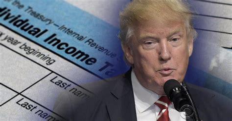 trump tax plans winners  losers cbs news