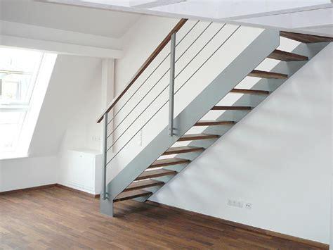 Treppe Stahlwange