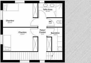 plan maison a etage sur terrain en pente ooreka With plan maison 2 niveaux