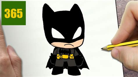 disegnare batman kawaii passo dopo passo disegni