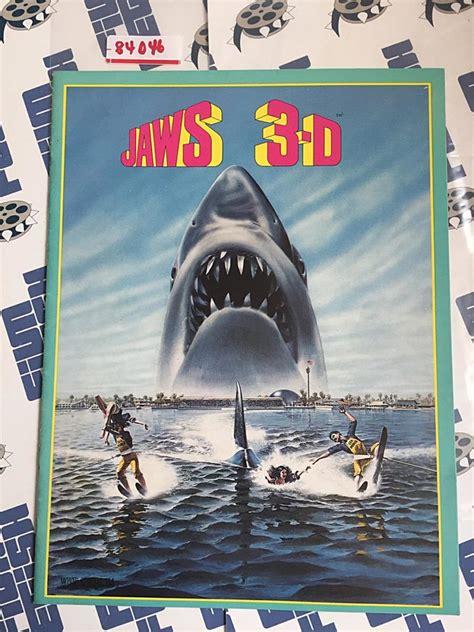 Original Jaws 3-D Press Book (1983) [84046] | FilmFetish ...