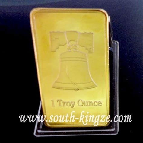 christmas gift  troy ounce gold plated pure  gold
