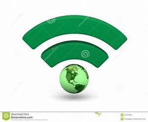 Green WiFi Symbol Stock Images - Image: 31247844