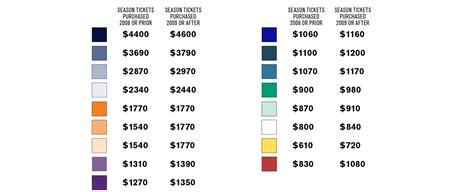 seating charts seattle seahawks