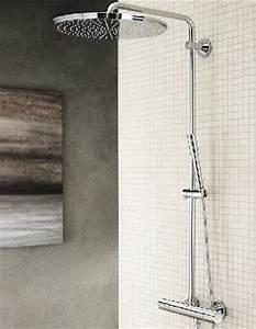 Thermostat Duscharmatur Entkalken : regenduschen die sch nsten duschsysteme von grohe ~ Lizthompson.info Haus und Dekorationen