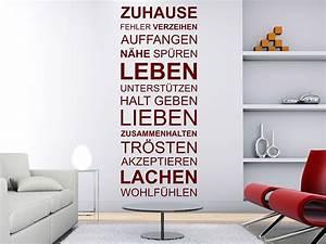 Lieben Leben Lachen : wandtattoo zuhause von ~ Orissabook.com Haus und Dekorationen