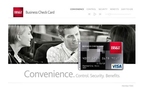 Bb&t Business Check Card On Behance