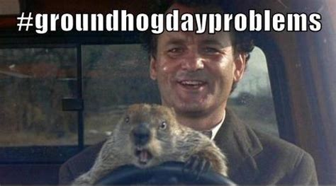 Groundhog Meme - how to solve d 233 j 224 vu fixing your nonprofit s groundhogdayproblems