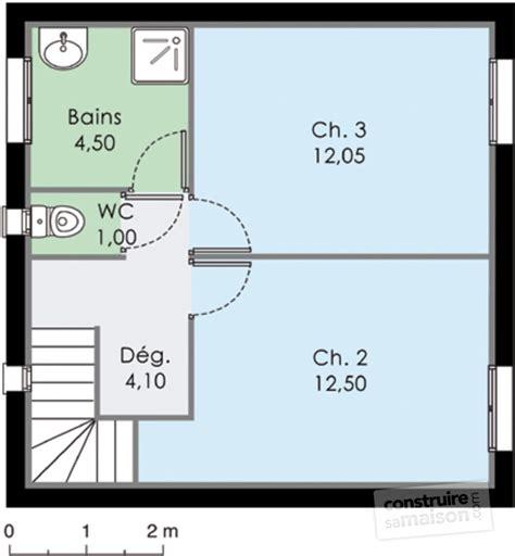 bureau dans une chambre maison méditerranéenne 3 dé du plan de maison