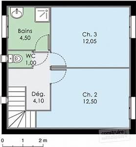 Plan Maison A Etage : maison m diterran enne 3 d tail du plan de maison m diterran enne 3 faire construire sa maison ~ Melissatoandfro.com Idées de Décoration