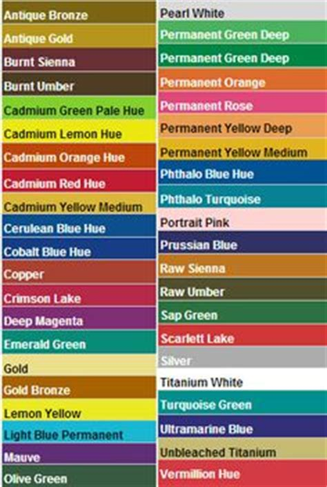 apple barrel brand acrylic paint color chart crafting how to s tips