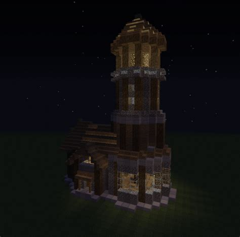 medieval lighthouse detailed grabcraft  number  source  minecraft buildings