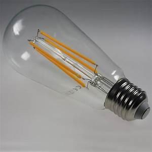 E27 Led Leuchtmittel : st64 e27 leuchtmittel mit 4w cob leds 2200k ~ Watch28wear.com Haus und Dekorationen