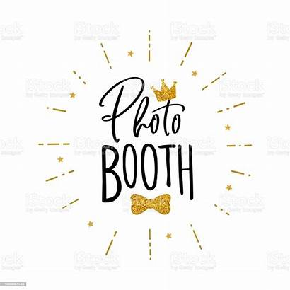 Booth Sign Props Vector Clip Illustration Works