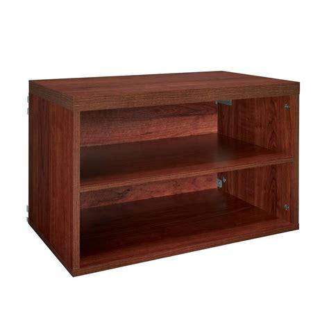 Closetmaid At Home Depot - closetmaid impressions 25 in cherry 4 shelf