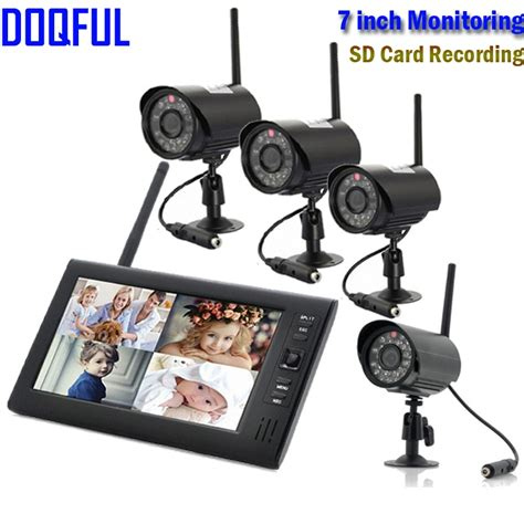 outdoor home security camera system wireless digital