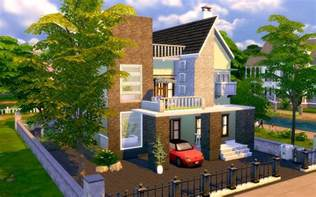 The Sims Houses by The Sims 4 Contemporary Modern House Homeless Sims