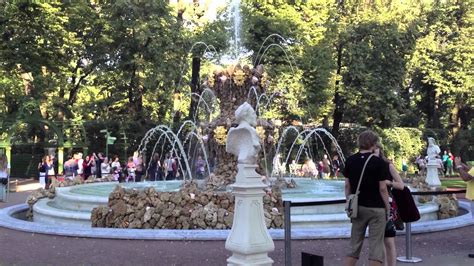 Summer Garden, St Petersburg Russia Youtube