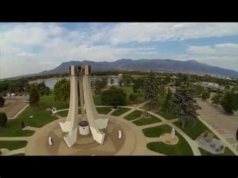 aerial quadcopter fpv and free flights at memorial park